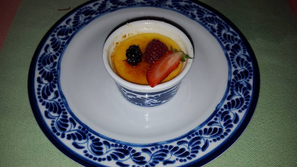 Pumpkin Creme Brulee at La Adelita. by Natalia Gomez Winter