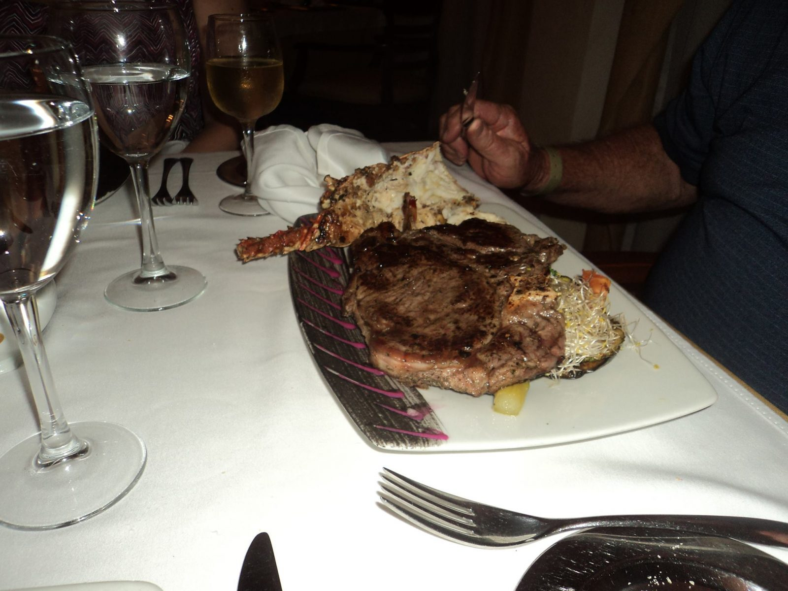 steak (humongous)