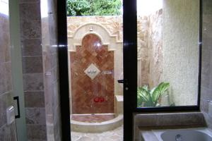 Mayan shower