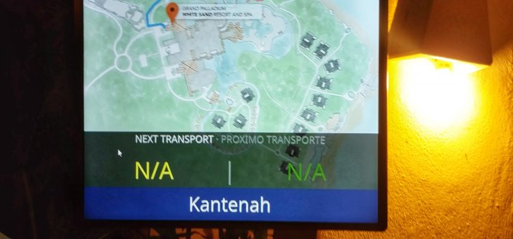 Live Tracking of Trains in Grand Palladium Riviera Maya